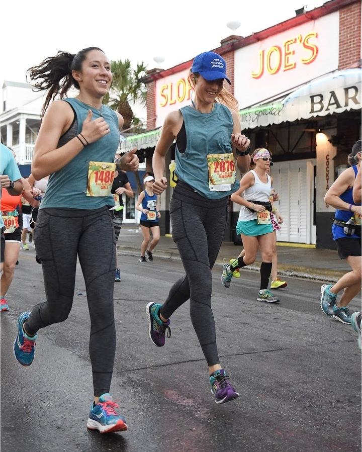 Margarita-Kruyff-Wells-Carla-Kruyff-Running-Key-West-Half-Marathon