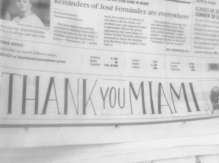 Why I finally subscribed to the Miami Herald (and you should too)